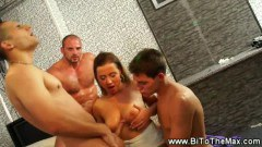 Dirty babes in bisexual party - duration 06:09