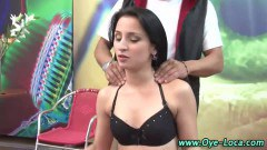 Hot latina teen picked up by horny old guy - duration 08:00