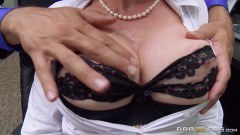 Gigi is chained to her desk pt1 - duration 07:50