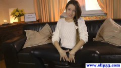Superb Russian amateur fucked during her audition - duration 09:59