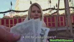 Skinny hot euro babe creampied by pickup artist - duration 07:59