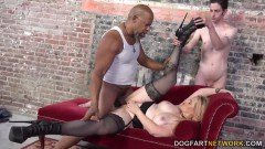 Harmoni Kalifornia Takes A Big Black Cock In Front Of A Cuckold - duration 11:16