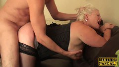 BBW British mature fucked hard by the master - duration 10:08