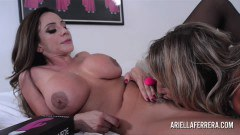 Ariella Ferra And Puma Swede Pleasing Each Other With Toys - duration 13:58