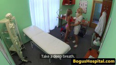 Hot nurse knows how to please pussy - duration 09:59