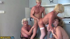 Hunk Makes Three Mature Ladies Happy - duration 06:14