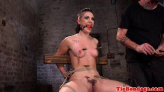 Rachael Madori tattooed BDSM slut has multiple forced orgasms  - duration 09:59