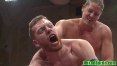 Wrestling dudes ass-fucking fuck before blowing - duration 09:59