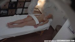 Perfect blonde got her every curve massaged - duration 09:21