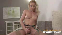 Kathia Nobili busty light haired hottie pleased with the size of that dick  - duration 10:01