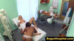 Ebony patient muff diving with super hot lesbian nurse  - duration 06:59