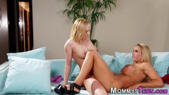 Kate England hot stepdaughter licks and tribes busty stepmom Tegan James - duration 06:14