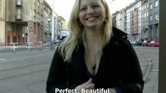 CzechStreets Ilona takes cash for public sex - duration 09:43