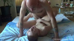 Horny Czech couple haves some rough sex - duration 09:46