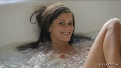Lovely Caprice A takins a bath - duration 02:59