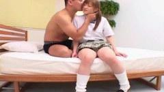 Young Japanese schoolgirl fucking