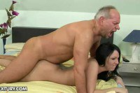 She loves clean and hard mature cock!