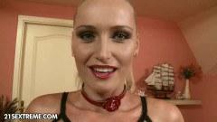 Pussy eating babe watch slut fuck hard cock