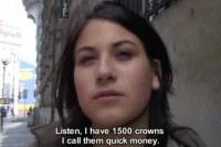 Hot Czech Veronika Blows For Cash