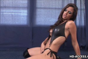 Sexy Shy Love gets down and has cock sucked!
