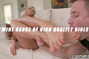 Bill and Karla in footjob and more