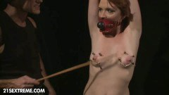 A redhead wife gets humilated by another