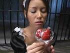 Asian Sperm Drinking Maid