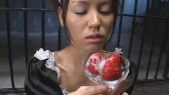 Asian Sperm Drinking Maid