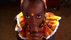 African babe in anal