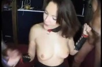 French slut doing guys