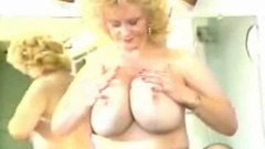 Busty blonde mature babe
