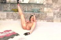 Cathy Berry gives a Striptease