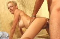 Granny getting pumped