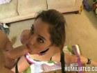 Skinny Latin Chick Gigi Destroyed