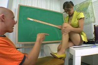 Guy and teacher