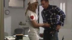 Avy Scott as a nurse