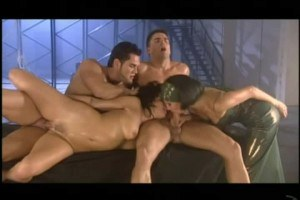 Belladonna and Sophie Evans in foursome