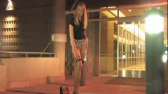 Katelynn strips in a public photoshoot