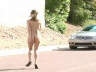 Awesome babes in public nudity