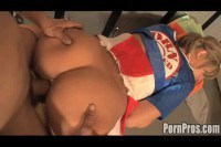 Asleep Cheerleader Cheyenne Slammed