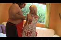 Ron Jeremy fucking a blonde teen