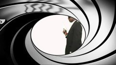 007 in black and porn version