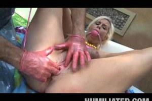 Tara Lynn Foxx gets a pussy punishment