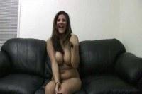 Dumb broad in porn casting