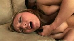 Big black cock fucks gracious teen Emily