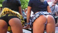 Perfect bouncing booty hot babes