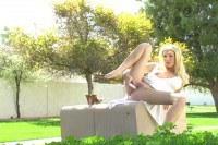 Allison Summer in public fingering