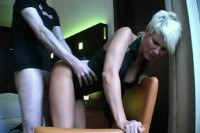 German busty milf in anal action