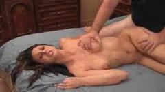 Horny brunette Ashley Jordan spreads to pound