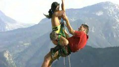 Extrem clifhanging sex in public